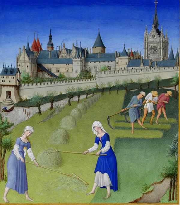 Calendario Contadine Italiane.Medioevo Calendario E Misurazione Del Tempo