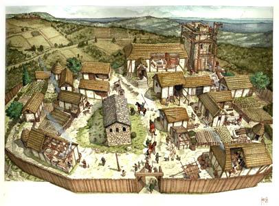 Il fondamento economico e il prestigio sociale del nobile for Case di un ranch di storia