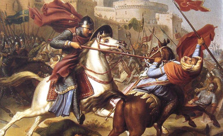 L ariete nel medioevo era usato come strumento d urto - Chi erano i cavalieri della tavola rotonda ...